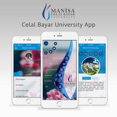 Mobile university app, student information systems, ios android application