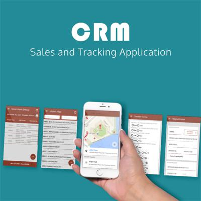 B2B CRM and sales tracking management android application development