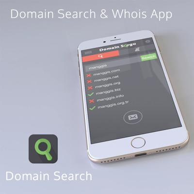 domain search, domain query, whois, tool application